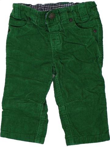 Pantalon garçon JOHN LEWIS vert 9 mois hiver #1403360_1