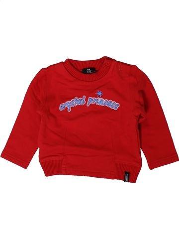 Sweat garçon NATURALINE rouge 6 mois hiver #1403430_1