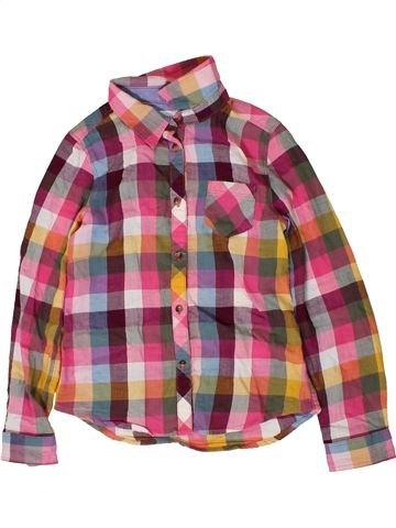 Chemise manches longues garçon H&M marron 7 ans hiver #1403469_1