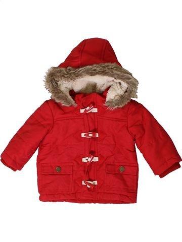 Manteau garçon F&F rouge 6 mois hiver #1403498_1
