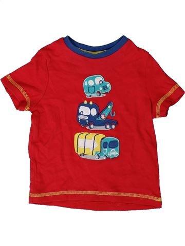 T-shirt manches courtes garçon MINI CLUB rouge 12 mois été #1403556_1