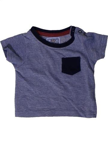 T-shirt manches courtes garçon PRIMARK bleu 6 mois été #1403752_1