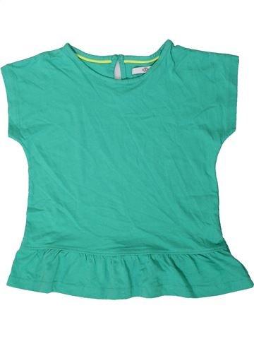 Camiseta de manga corta niña MARKS & SPENCER verde 7 años verano #1403794_1