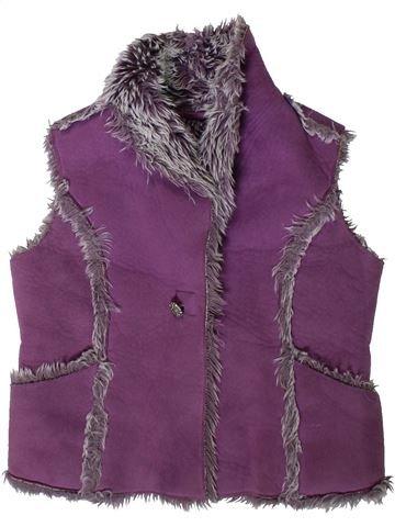 Gilet fille MARKS & SPENCER violet 5 ans hiver #1403873_1