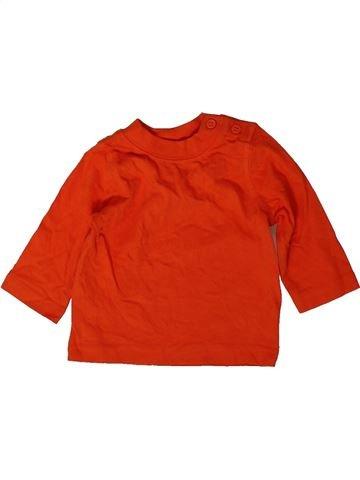 T-shirt manches longues garçon MINICLUB rouge 3 mois hiver #1403879_1