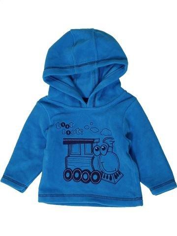 Pull garçon M&CO bleu 6 mois hiver #1403906_1