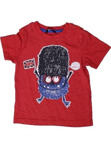 Camiseta de manga corta niño GEORGE rojo 3 años verano #1403910_1