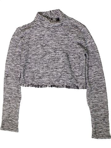 Pull fille KYLIE gris 13 ans hiver #1403925_1