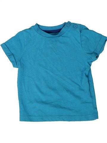 Camiseta de manga corta niño F&F azul 9 meses verano #1403958_1