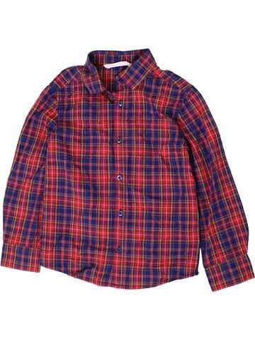 Chemise manches longues garçon H&M violet 7 ans hiver #1403962_1