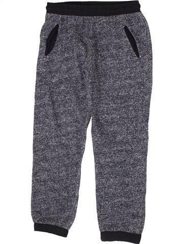 Pantalon garçon F&F gris 9 ans hiver #1403992_1