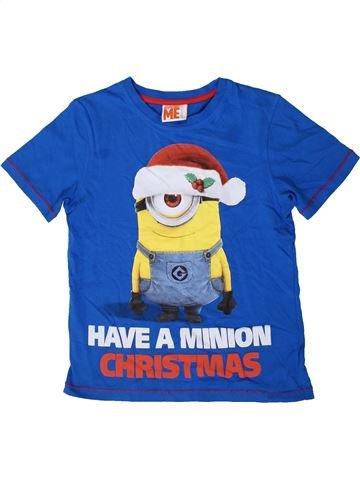Camiseta de manga corta niño GEORGE azul 8 años verano #1404005_1