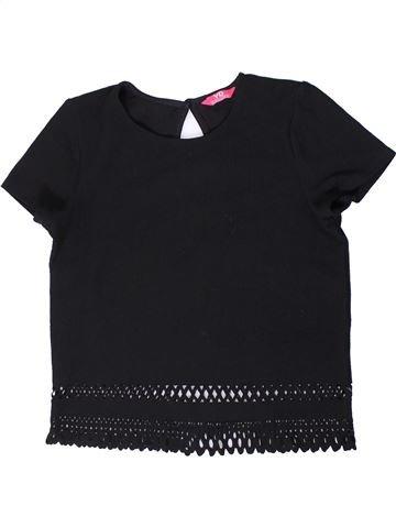 T-shirt manches courtes fille PRIMARK noir 13 ans été #1404021_1