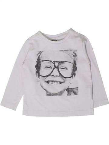 Camiseta de manga larga niña TAPE À L'OEIL blanco 2 años invierno #1404503_1