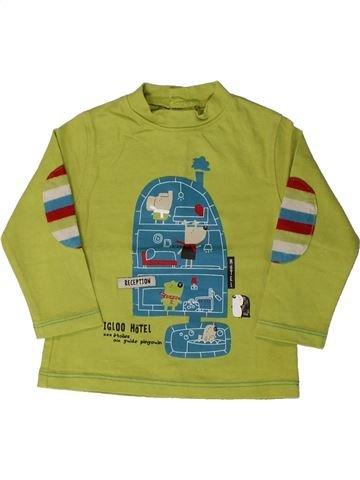 Camiseta de manga larga niño LA COMPAGNIE DES PETITS verde 9 meses invierno #1405539_1