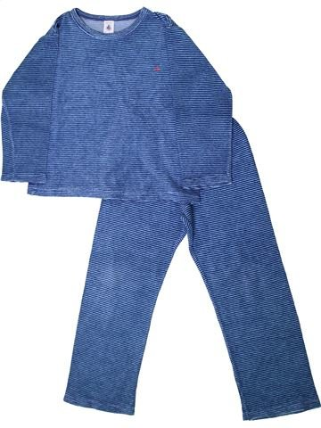 Pijama de 2 piezas niño PETIT BATEAU azul 6 años invierno #1405676_1