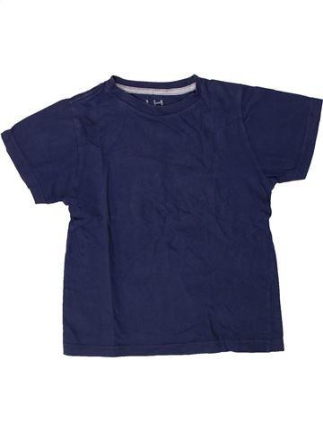 T-shirt manches courtes garçon LH BY LA HALLE bleu 6 ans été #1405715_1