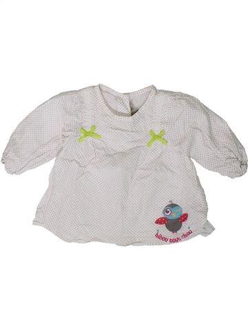 Blusa de manga larga niña PREMAMAN blanco 6 meses invierno #1406587_1