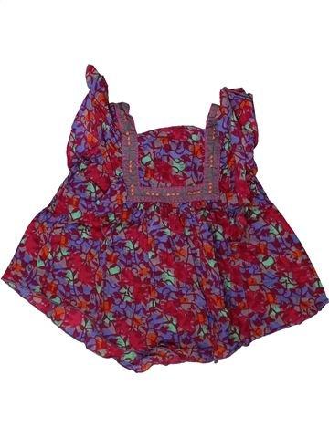 Blouse manches courtes fille KIDKANAI violet 2 ans été #1406762_1