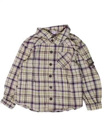 Chemise manches longues garçon P'TIT BISOU gris 2 ans hiver #1407208_1