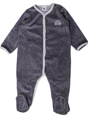 Pyjama 1 pièce garçon PETIT BATEAU gris 18 mois hiver #1407456_1