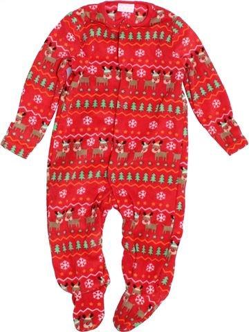 Robe de chambre garçon F&F rouge 6 mois hiver #1407924_1