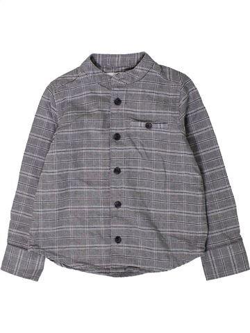 Chemise manches longues garçon BOYS gris 4 ans hiver #1409226_1