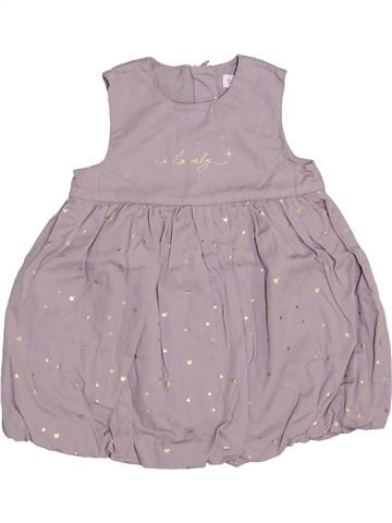Vestido niña BRIOCHE rosa 9 meses verano #1409527_1