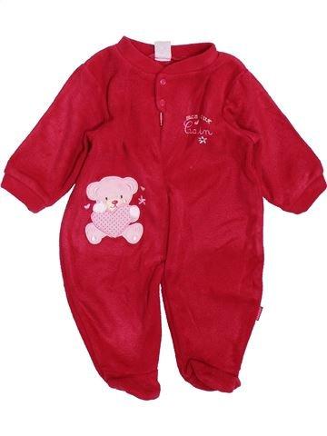 Bata niña ABSORBA rojo 3 meses invierno #1409618_1