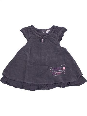 Vestido niña LES BEBES SONT COMME ÇA gris 6 meses invierno #1409628_1