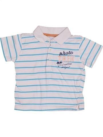 Polo de manga corta niño GEMO gris 18 meses verano #1409984_1