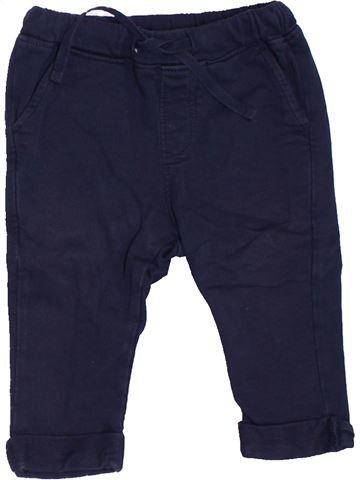 Pantalón niño NATALYS azul 6 meses invierno #1410164_1