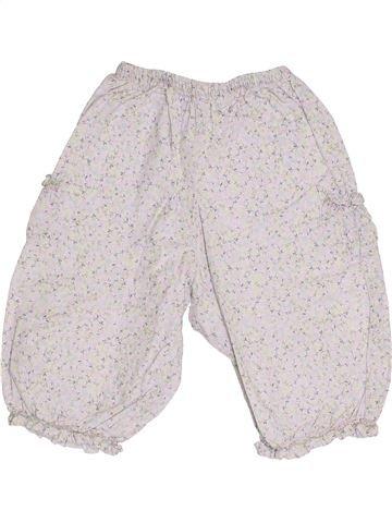 Pantalón niña JACADI blanco 12 meses verano #1410370_1