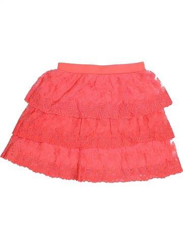 Falda niña GEMO rosa 10 años verano #1410433_1
