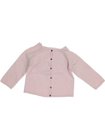 Gilet fille BOUT'CHOU rose 2 ans hiver #1410529_1