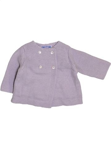 Chaleco niña JACADI violeta 1 mes invierno #1410695_1
