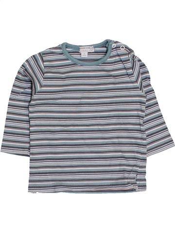Camiseta de manga larga niño KIMBALOO gris 9 meses invierno #1411103_1