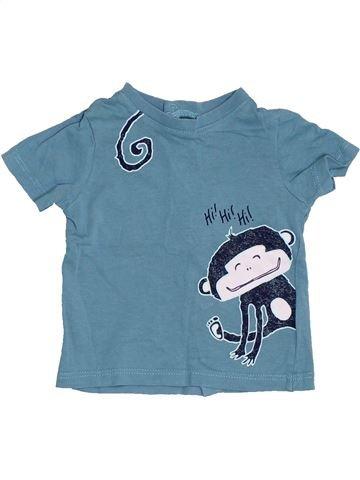 Camiseta de manga corta niño KIMBALOO azul 3 meses verano #1411471_1