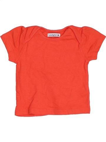 T-shirt manches courtes fille LADYBIRD orange 6 mois été #1411905_1