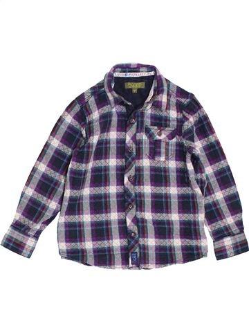Chemise manches longues garçon BAKER bleu 6 ans hiver #1411997_1