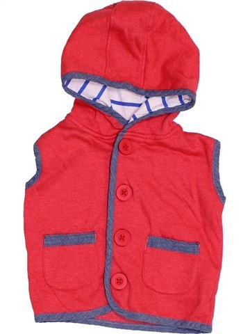 Gilet fille HEATONS rouge 9 mois hiver #1412060_1