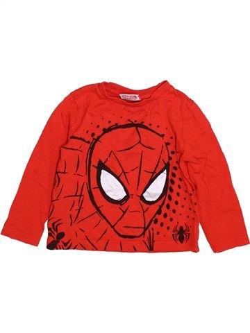 Camiseta de manga larga niño SUPERS HÉROS rojo 3 años invierno #1412097_1