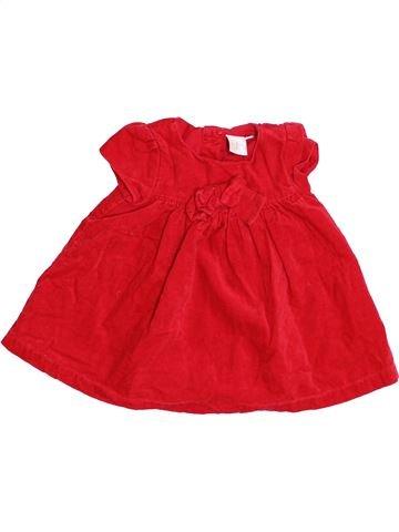 Robe fille JASPER CONRAN rouge 6 mois hiver #1412452_1