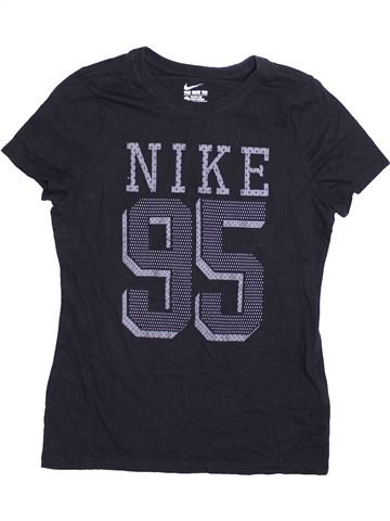 Camiseta de manga corta niño NIKE negro 13 años verano #1412490_1