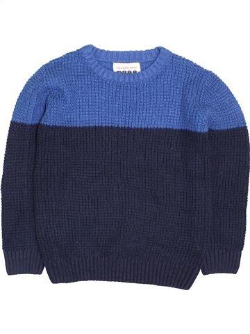 Pull garçon BOYS bleu 7 ans hiver #1412722_1