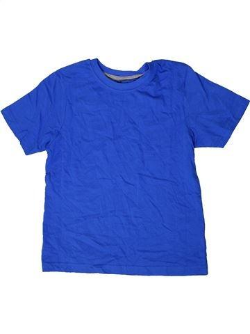 T-shirt manches courtes garçon PEPPERTS bleu 8 ans été #1413855_1