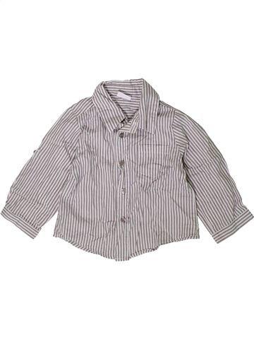 Chemise manches longues garçon LADYBIRD gris 18 mois hiver #1414164_1