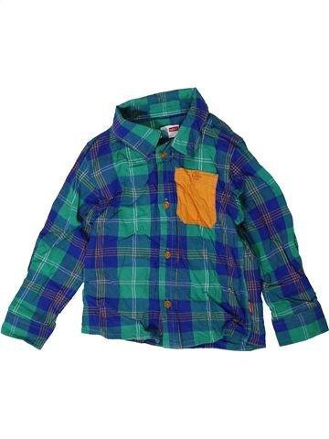 Chemise manches longues garçon NAME IT bleu 2 ans hiver #1414209_1