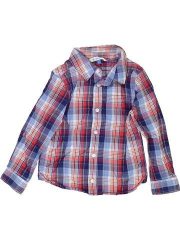 Camisa de manga larga niño JOHN LEWIS gris 3 años invierno #1415193_1