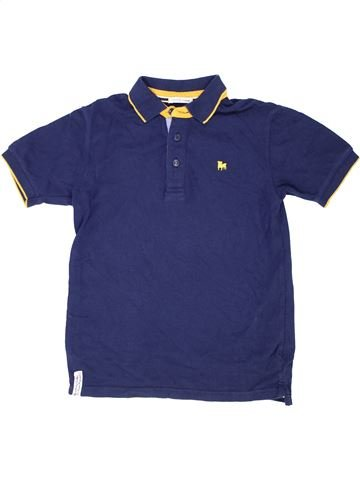 Polo de manga corta niño JASPER CONRAN azul 10 años verano #1415334_1